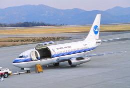 しょうせいさんが、岡山空港で撮影した厦門航空 737-2T4C/Advの航空フォト(飛行機 写真・画像)