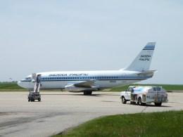 kohei787さんが、サライナ市営空港で撮影したシエラ・パシフィック航空 737-2T4/Advの航空フォト(飛行機 写真・画像)