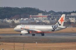 ギ―ピロさんが、成田国際空港で撮影したジェットスター A320-232の航空フォト(飛行機 写真・画像)