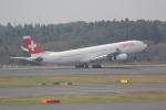 ANA744Foreverさんが、成田国際空港で撮影したスイスインターナショナルエアラインズ A340-313の航空フォト(写真)