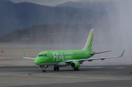 xxxxxzさんが、静岡空港で撮影したフジドリームエアラインズ ERJ-170-200 (ERJ-175STD)の航空フォト(飛行機 写真・画像)