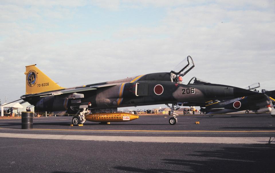 チャーリーマイクさんの航空自衛隊 Mitsubishi F-1 (70-8206) 航空フォト