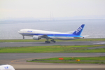 ふじいあきらさんが、羽田空港で撮影した全日空 777-281/ERの航空フォト(写真)