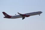 ANA744Foreverさんが、成田国際空港で撮影したヴァージン・アトランティック航空 A340-313の航空フォト(写真)
