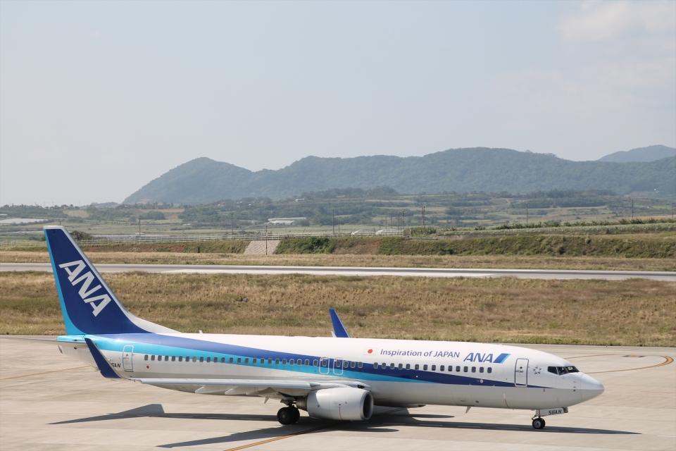 White_Maneさんの全日空 Boeing 737-800 (JA56AN) 航空フォト