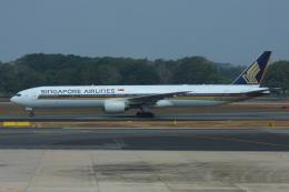 よっしぃさんが、シンガポール・チャンギ国際空港で撮影したシンガポール航空 777-312の航空フォト(写真)