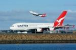 santaさんが、シドニー国際空港で撮影したカンタス航空 A380-842の航空フォト(写真)