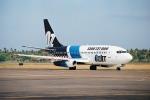 ゴンタさんが、デンパサール国際空港で撮影したOzJet 737-229/Advの航空フォト(写真)