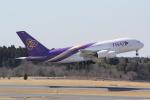 ANA744Foreverさんが、成田国際空港で撮影したタイ国際航空 A380-841の航空フォト(写真)