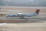 uhfxさんが、伊丹空港で撮影した日本エアコミューター DHC-8-402Q Dash 8の航空フォト(飛行機 写真・画像)