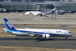 SKYLINEさんが、羽田空港で撮影した全日空 787-8 Dreamlinerの航空フォト(飛行機 写真・画像)