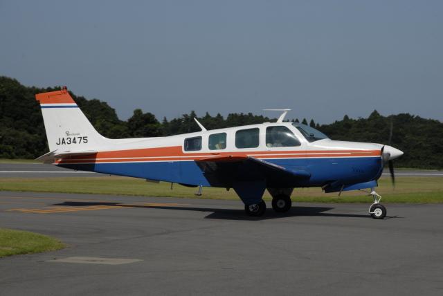 tassさんが、阿見飛行場で撮影した日本個人所有 36 Bonanza 36の航空フォト(飛行機 写真・画像)