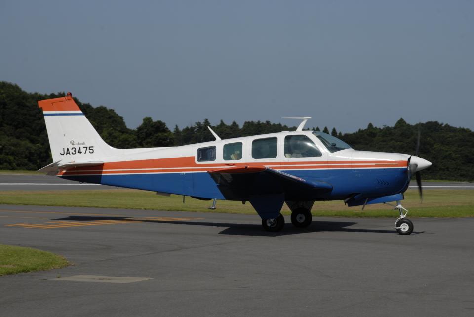 tassさんの日本個人所有 Beechcraft 36 Bonanza (JA3475) 航空フォト