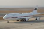 F-2A#533さんが、中部国際空港で撮影したドバイ・ロイヤル・エア・ウィング 747-422の航空フォト(写真)