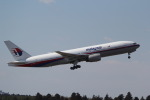 ANA744Foreverさんが、成田国際空港で撮影したマレーシア航空 777-2H6/ERの航空フォト(写真)