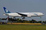 tassさんが、成田国際空港で撮影したニュージーランド航空 777-219/ERの航空フォト(写真)