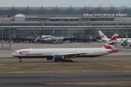 肉食獣さんが、羽田空港で撮影したブリティッシュ・エアウェイズ 777-336/ERの航空フォト(写真)