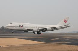 Masaさんが、高松空港で撮影した日本航空 747-446の航空フォト(飛行機 写真・画像)
