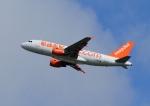 じーく。さんが、トゥールーズ・ブラニャック空港で撮影したイージージェット A319-111の航空フォト(飛行機 写真・画像)