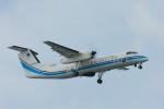 パンダさんが、那覇空港で撮影した海上保安庁 DHC-8-315 Dash 8の航空フォト(飛行機 写真・画像)