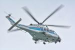 パンダさんが、那覇空港で撮影した海上保安庁 AW139の航空フォト(写真)