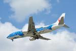 パンダさんが、那覇空港で撮影した日本トランスオーシャン航空 737-4Q3の航空フォト(写真)