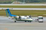 パンダさんが、那覇空港で撮影した琉球エアーコミューター DHC-8-103Q Dash 8の航空フォト(飛行機 写真・画像)