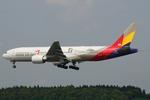 SKYLINEさんが、成田国際空港で撮影したアシアナ航空 777-28E/ERの航空フォト(写真)