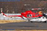Chofu Spotter Ariaさんが、調布飛行場で撮影した奈良県防災航空隊 412EPの航空フォト(写真)