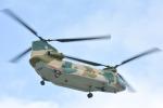 パンダさんが、那覇空港で撮影した航空自衛隊 CH-47J/LRの航空フォト(写真)