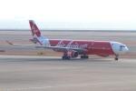 たにへいさんが、中部国際空港で撮影したエアアジア・エックス A330-343Xの航空フォト(写真)