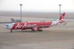 たにへいさんが、中部国際空港で撮影したエアアジア・エックス A330-343Xの航空フォト(飛行機 写真・画像)