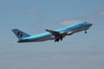 アイスコーヒーさんが、成田国際空港で撮影した大韓航空 747-4B5F/SCDの航空フォト(飛行機 写真・画像)