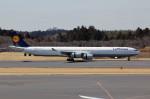 アイスコーヒーさんが、成田国際空港で撮影したルフトハンザドイツ航空 A340-642Xの航空フォト(写真)