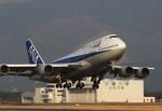 福岡空港Loveさんが、熊本空港で撮影した全日空 747-481(D)の航空フォト(写真)