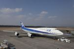 しゅあさんが、熊本空港で撮影した全日空 747-481(D)の航空フォト(写真)