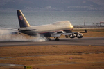 ヒデキチさんが、関西国際空港で撮影したユナイテッド航空 747-422の航空フォト(写真)