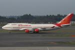 SKYLINEさんが、成田国際空港で撮影したエア・インディア 747-437の航空フォト(写真)