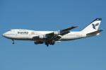 SKYLINEさんが、成田国際空港で撮影したイラン航空 747-186Bの航空フォト(写真)