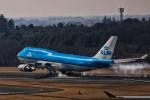 カヤノユウイチさんが、成田国際空港で撮影したKLMオランダ航空 747-406の航空フォト(飛行機 写真・画像)