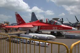 Mame @ TYOさんが、シンガポール・チャンギ国際空港で撮影したロシア空軍 Yak-130の航空フォト(飛行機 写真・画像)