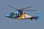 へりさんが、名古屋飛行場で撮影した東邦航空 EC155Bの航空フォト(写真)