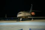 Severemanさんが、静岡空港で撮影したセカンド・エアクラフト Falcon 2000EXの航空フォト(写真)