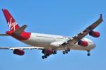 パンダさんが、成田国際空港で撮影したヴァージン・アトランティック航空 A340-313の航空フォト(写真)