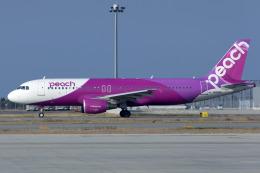 Scotchさんが、関西国際空港で撮影したピーチ A320-214の航空フォト(飛行機 写真・画像)