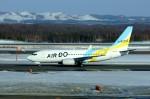 しんさんが、新千歳空港で撮影したAIR DO 737-781の航空フォト(写真)