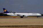 tassさんが、成田国際空港で撮影したルフトハンザドイツ航空 A340-313Xの航空フォト(写真)