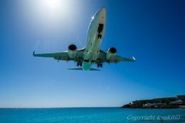 kenkiti0さんが、プリンセス・ジュリアナ国際空港で撮影したウェストジェット 737-297/Advの航空フォト(飛行機 写真・画像)
