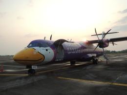 maixxさんが、ラノーン空港で撮影したノックエア ATR-72-500 (ATR-72-212A)の航空フォト(飛行機 写真・画像)