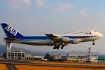 Tomo_lgmさんが、熊本空港で撮影した全日空 747-481(D)の航空フォト(写真)